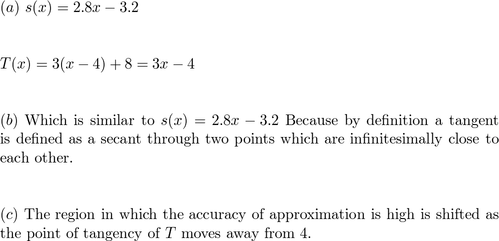 Solutions to Larson Calculus AP Edition (9781285060309), Pg  116