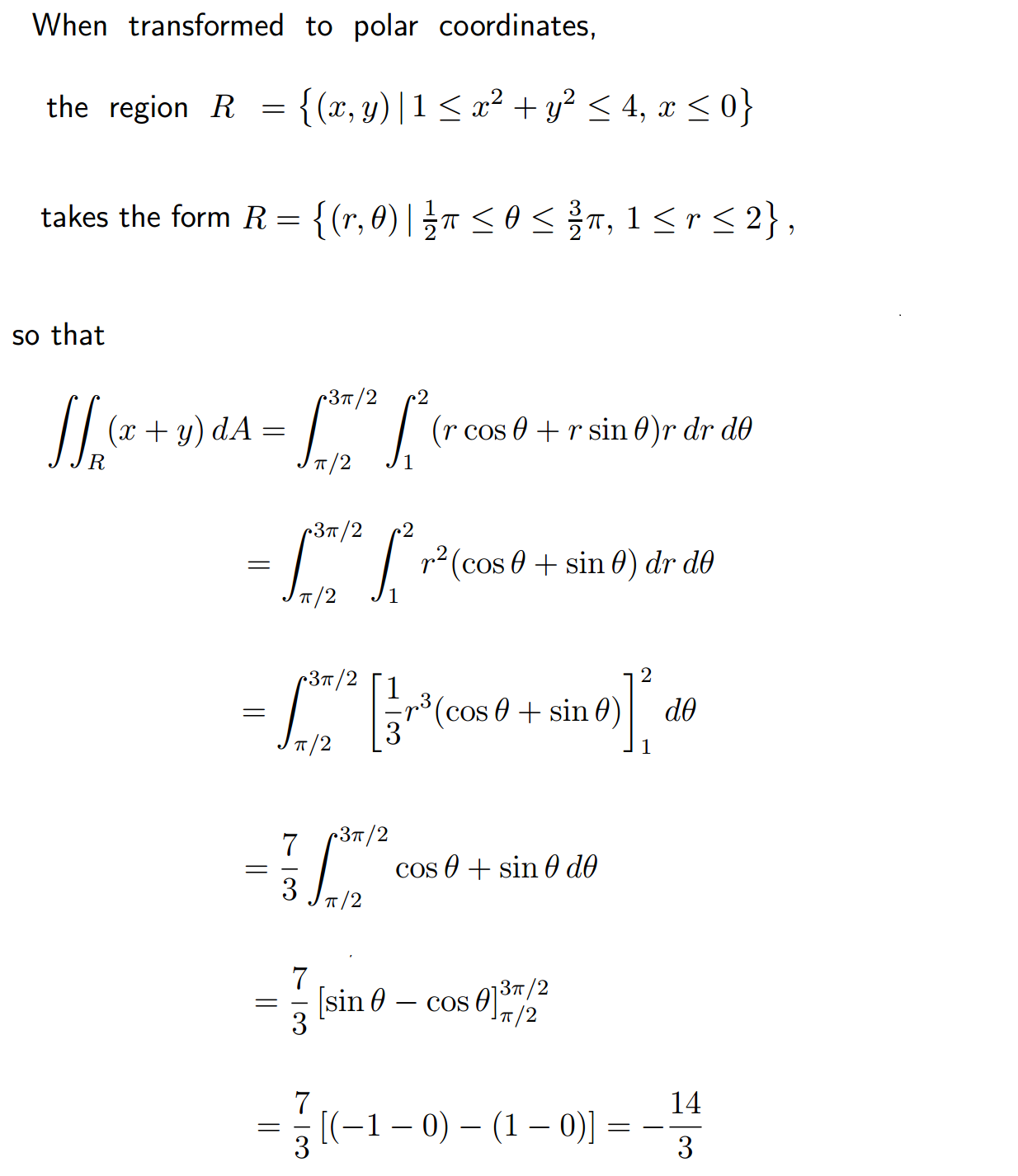 Exercises And Technical Solution In Calculus