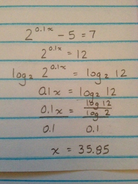 Solutions to Larson Algebra 2 (9780618595419), Pg  520, Ex