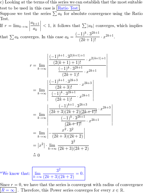 a  Find the first four nonzero terms of the Maclaurin series