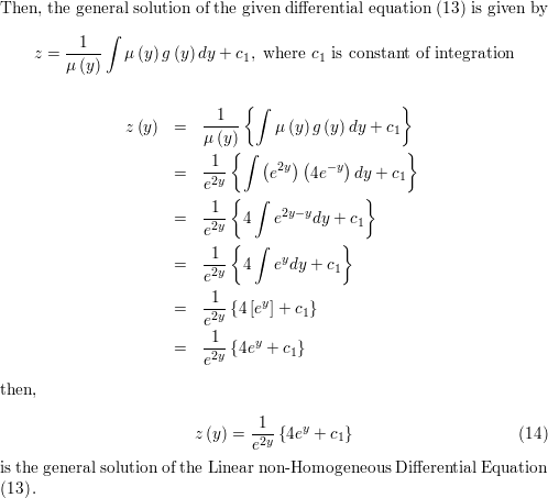 Consider second order differential equations of the form y